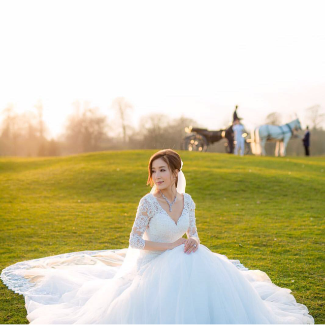Dramaxstyle Celebrity Wedding Him Law and Tavia Yeung