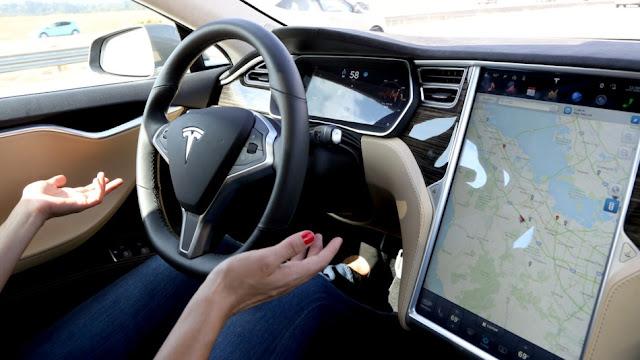 Autopilot coche Tesla X