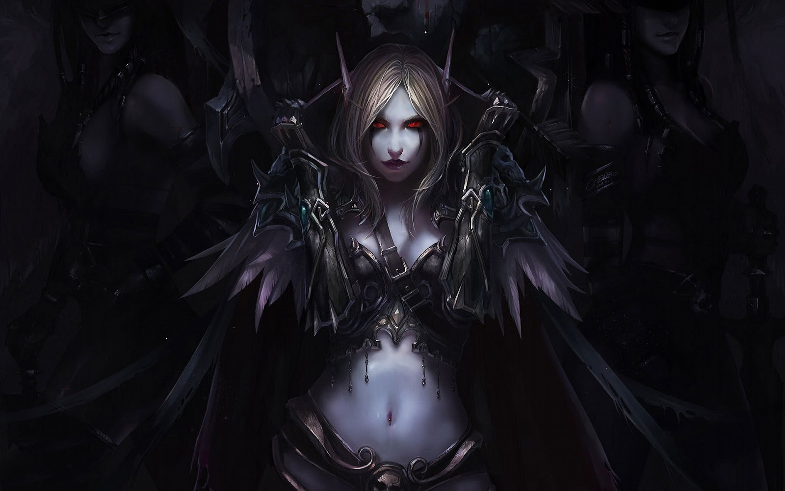 Beautiful Sylvanas Windrunner World of Warcraft Wallpaper