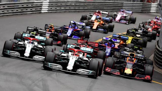 cancelación carreras f1 2020