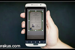 Tips Cara Scan Ijazah,Skck,Ktp di Hp Android