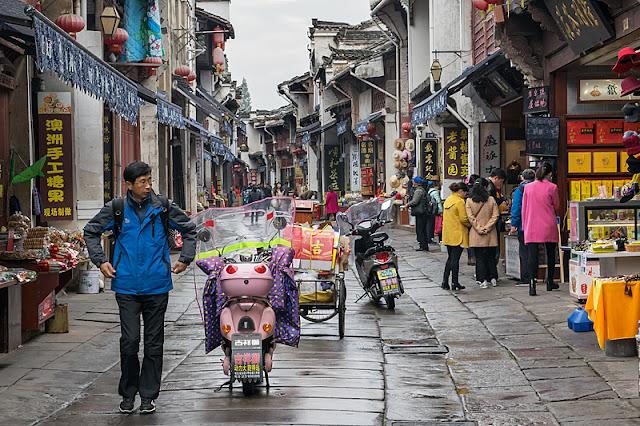 La Vieille Rue de Tunxi (Huangshan)