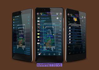BBM Mod Kampretto v5 Transparant v3.3.4.48 Apk Terbaru