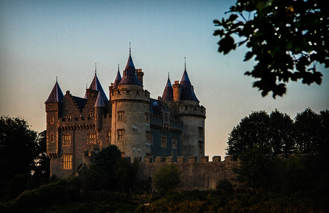 Killyleagh Castle Towers