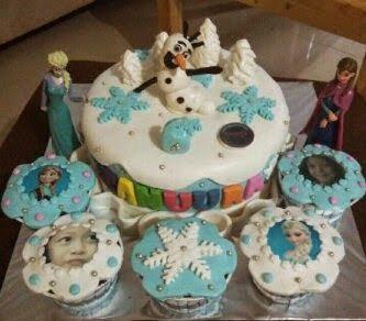 ultah kue frozen bandung