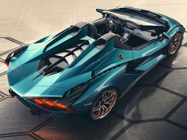 Lamborghini Sian híbrido de 808 cv em versão Roadster