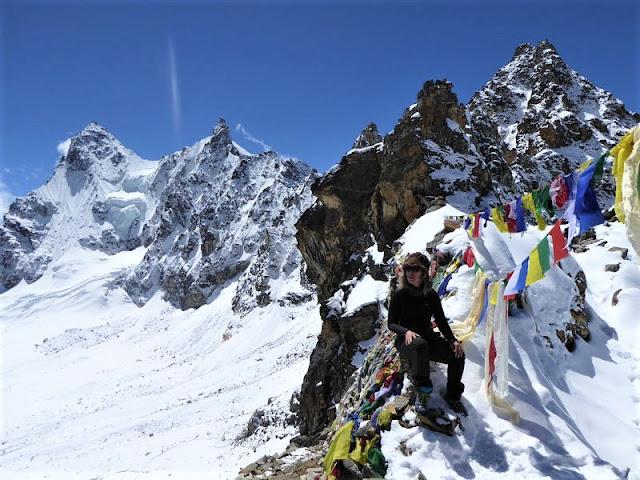 Renjo La Pass in Nepal