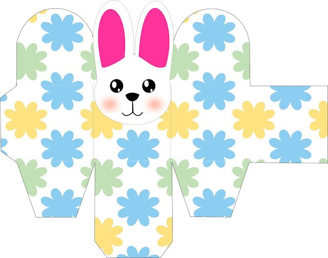Easter Bunny: Free Printable Boxes.
