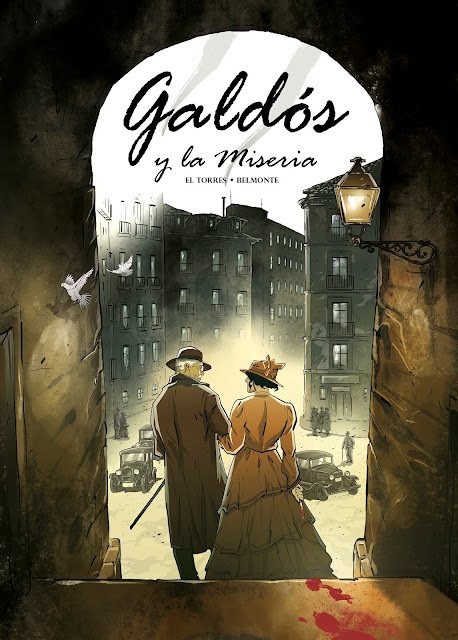 Nuevo Nueve lanzará el cómic Galdós y la Miseria, de El Torres y Belmonte.
