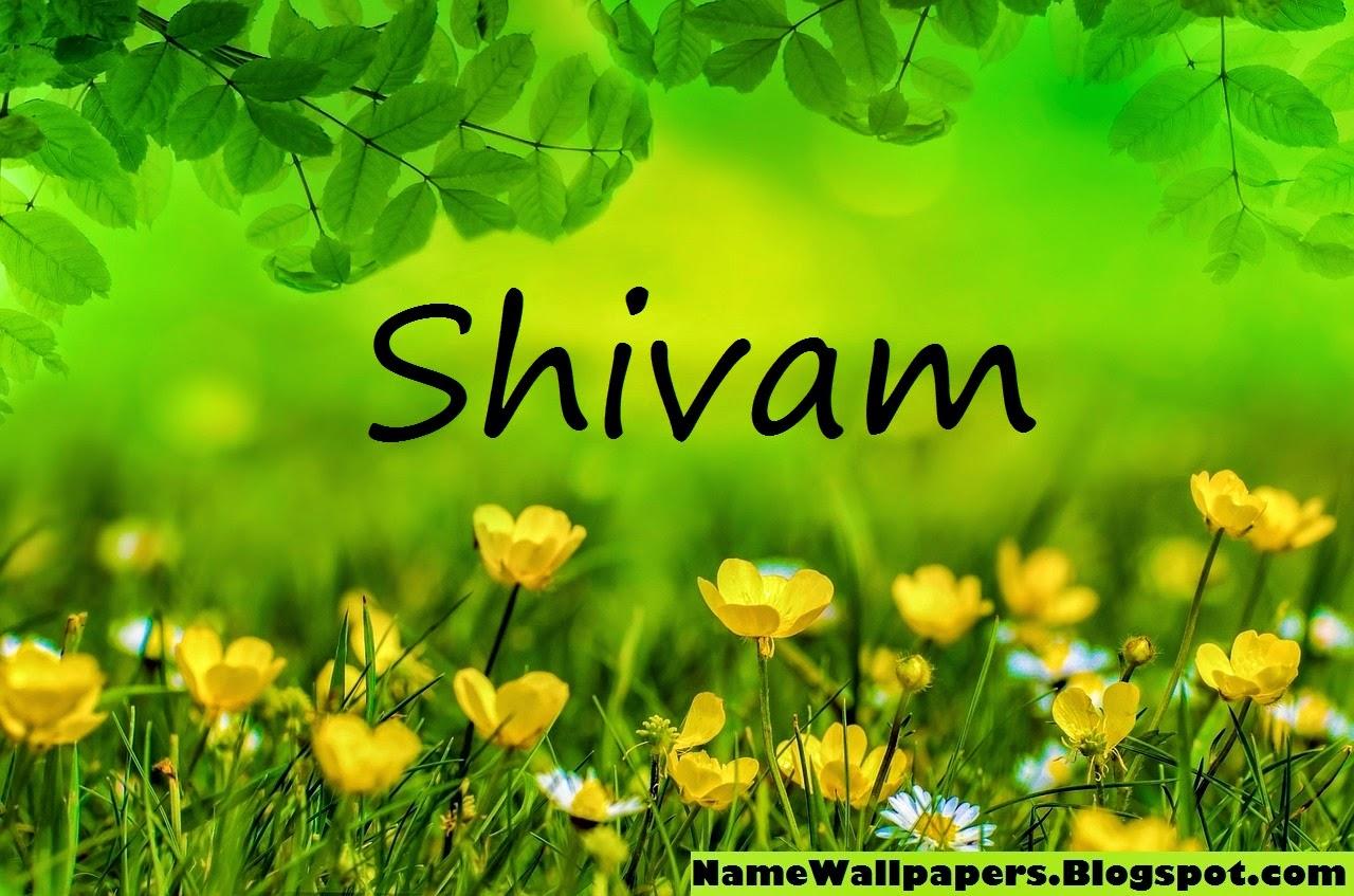 wallpaper name shivam