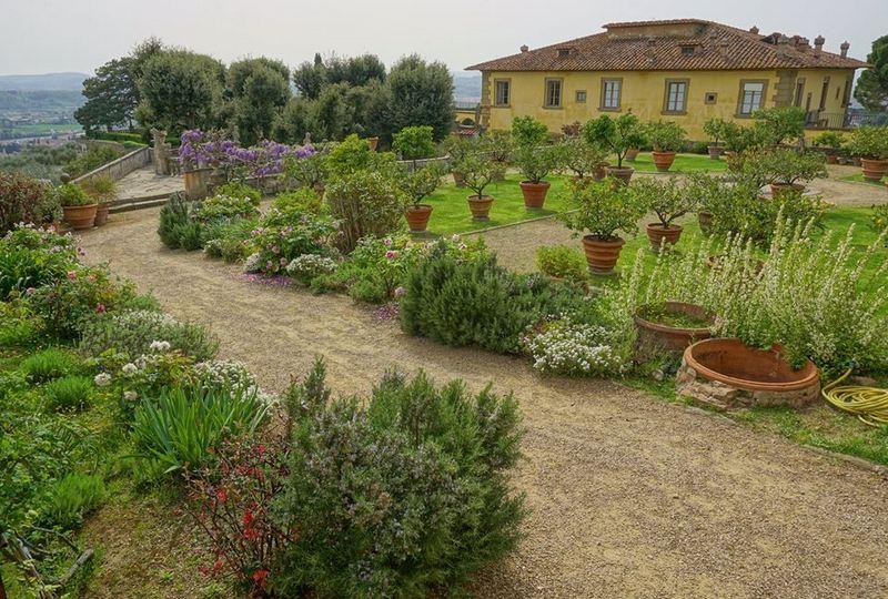 Villa Gamberaia en la Toscana La primavera despierta en los Jardines de Italia