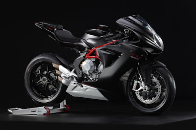 MV Agusta F3 800 Black Side view image