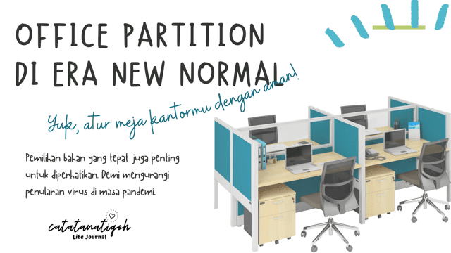 Office Partition di Era New Normal
