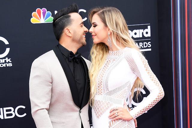 NEWS Luis Fonsi na rozdaniu Billboard Music Awards w Stanach Zjednoczonych w Las Vegas.
