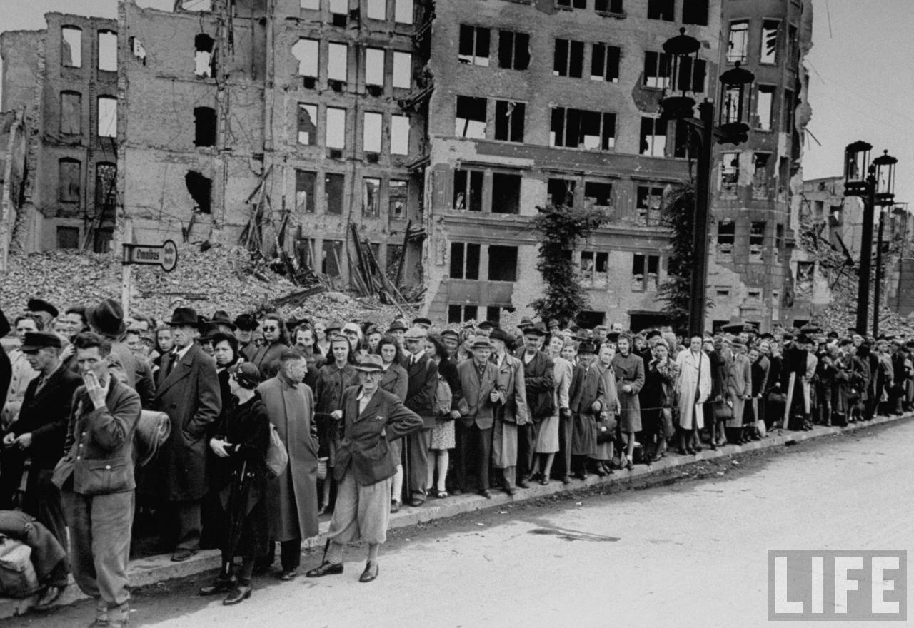 Berlin at the end of the War, 1945 - Rare Historical Photos  |Berlin Germany After Wwii