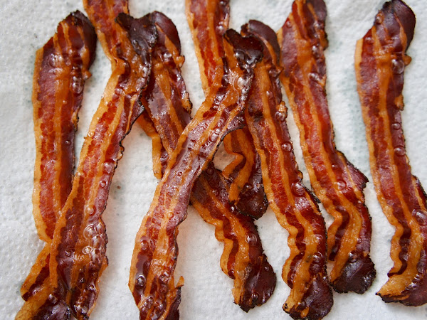 REZEPT: knuspriger Bacon aus dem Backofen