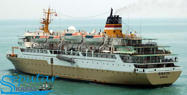 Spesifikasi Kapal Pelni BINAIYA
