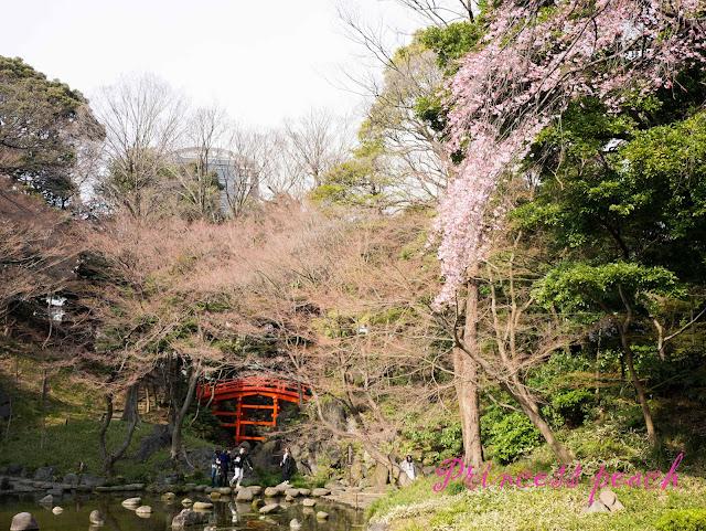 小石川後樂園渡月橋