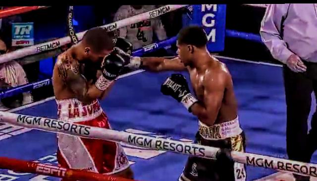Shakur Stevenson Beats Felix Caraballo