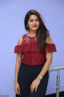 Pavani Gangireddy in Cute Black Skirt Maroon Top at 9 Movie Teaser Launch 5th May 2017  Exclusive 029.JPG