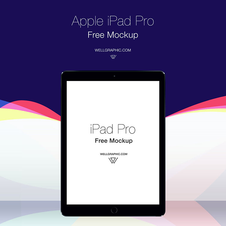 Apple iPad Pro Mockup PSD