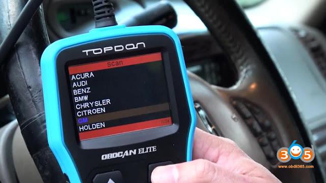 Topdon Elite scan tool