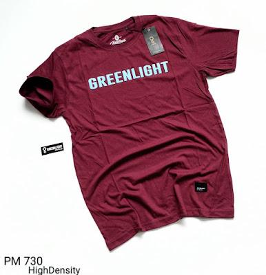 BAJU KAOS GREENLIGHT (PM730)