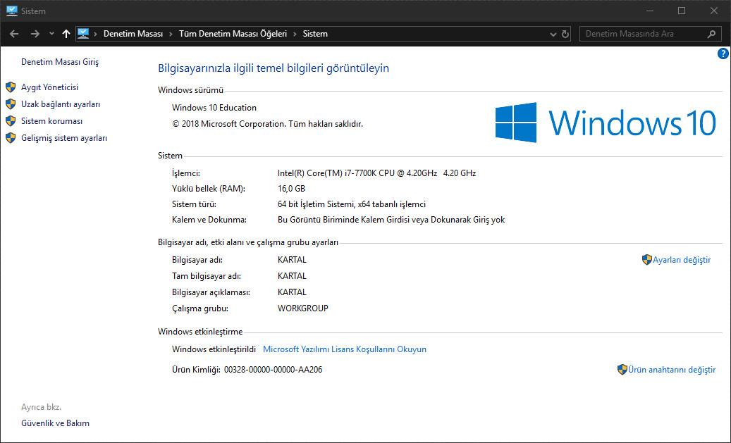 Windows 10 Education (2019) %100 Çalışan Serial Key ...