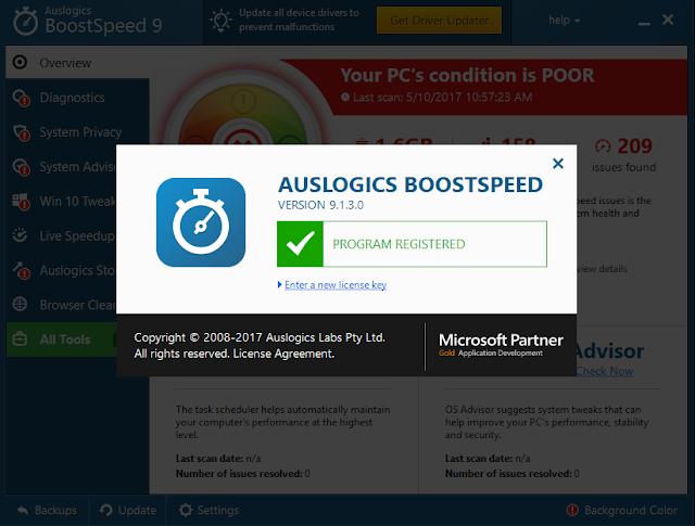 auslogics boostspeed 9 crack