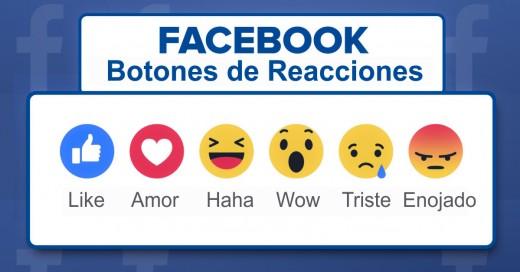 Facebook cambia su icono de Me gusta ¡Llegaron las nuevas 'Reacciones!