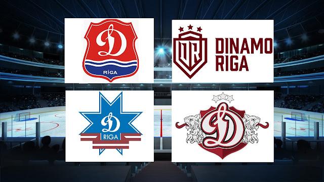 Логотипы Динамо Рига