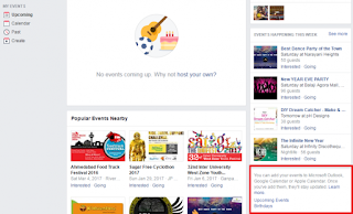 Save Facebook birthday and events in your Smartphone calendar