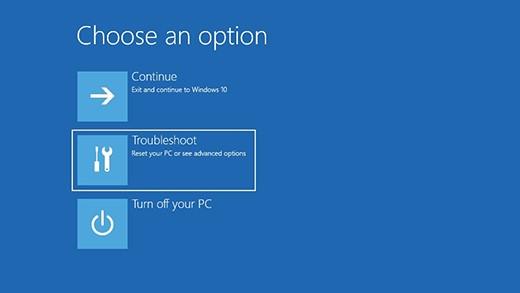 Cara Factory Reset Windows 10