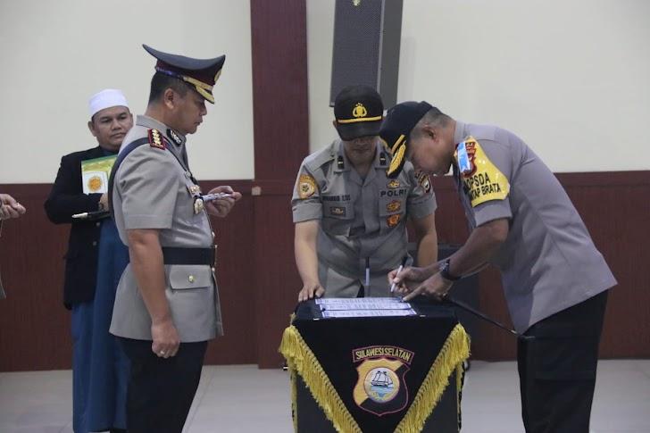 Kombes Pol Wahyu Dewi Ariwibowo, Resmi Menjabat Kapolrestabes Makassar