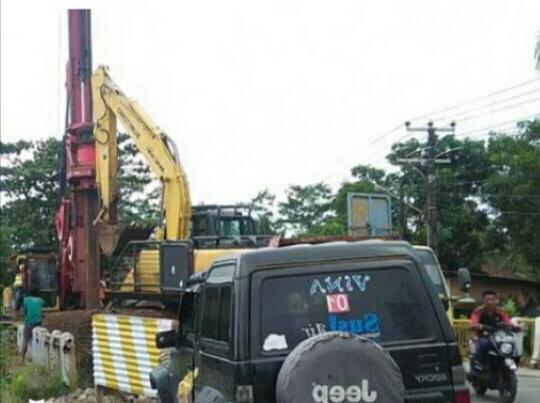 Pelaksanaan Pembangunan Jembatan Cikidang Sudah Masuk Tahap Akhir