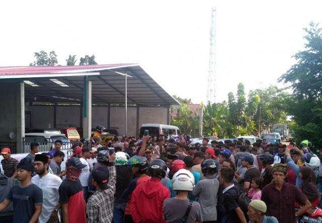 Kehadiran GP Ansor di Bengkalis Dihadang Warga, Mobil Dirusak