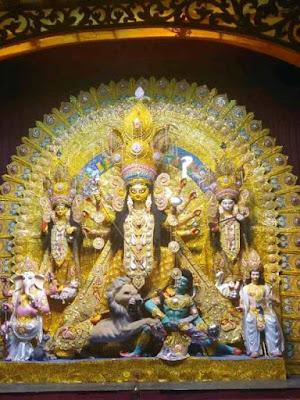 Durga Puja origin