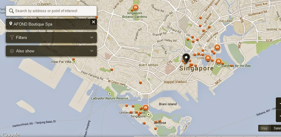 AFOND Boutique Spa Singapore Map,Map of AFOND Boutique Spa Singapore,Tourist Attractions in Singapore,Things to do in Singapore,AFOND Boutique Spa Singapore accommodation destinations attractions hotels map reviews photos pictures