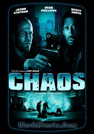 Poster Of Chaos In Dual Audio Hindi English 300MB Compressed Small Size Pc Movie Free Download Only At worldfree4u.com
