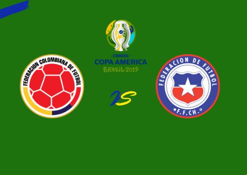 Colombia vs Chile  Resumen & Partido Completo