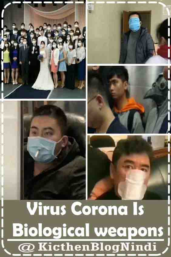 Corona virus is one of the biological weapons to kill human pupulation on a large scale. This Biological Weapon is intentionally aimed at China because China has a very high population and the population of China is around 2 billion inhabitants. Secret Objectives They want to assess, see how the Chinese state handlers in overcoming these problems. This virus is one of the test material.