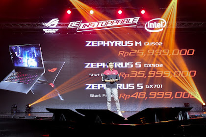 ROG Face Off Laptop Mewah dan Mahal dari ASUS X BMW Designworks