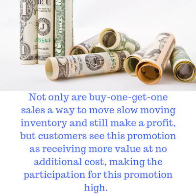 buy-one-get-one sales promotion tip