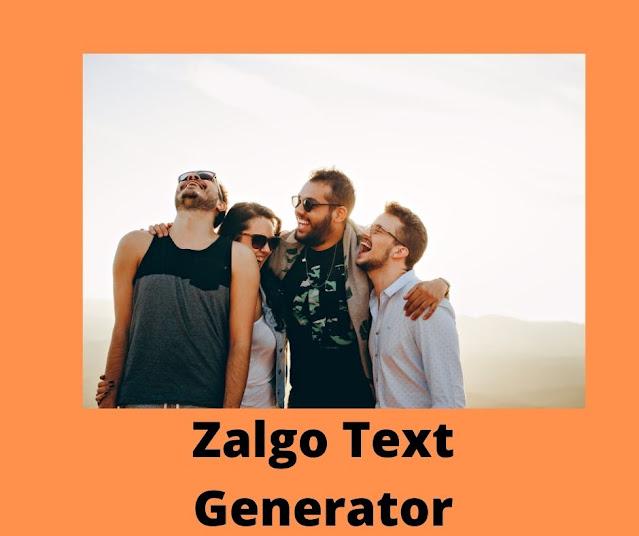 Zalgo Text Generator