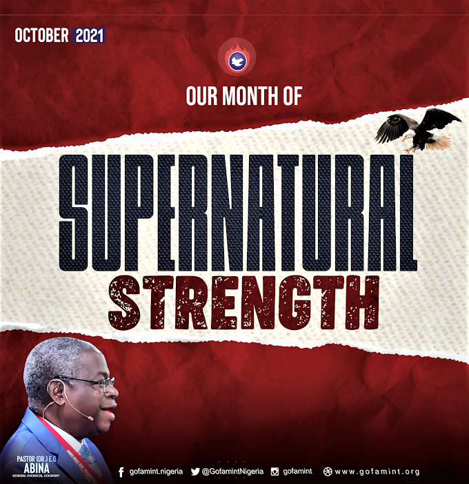 GOFAMINT PROPHETIC DECLARATION FOR THE MONTH OF OCTOBER 2021