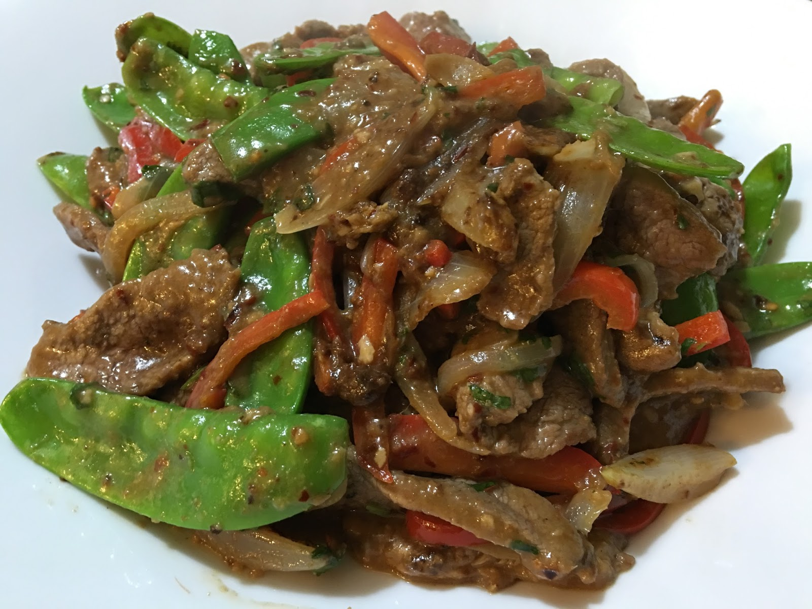 a dash of flavour: Hunan Beef with Cumin