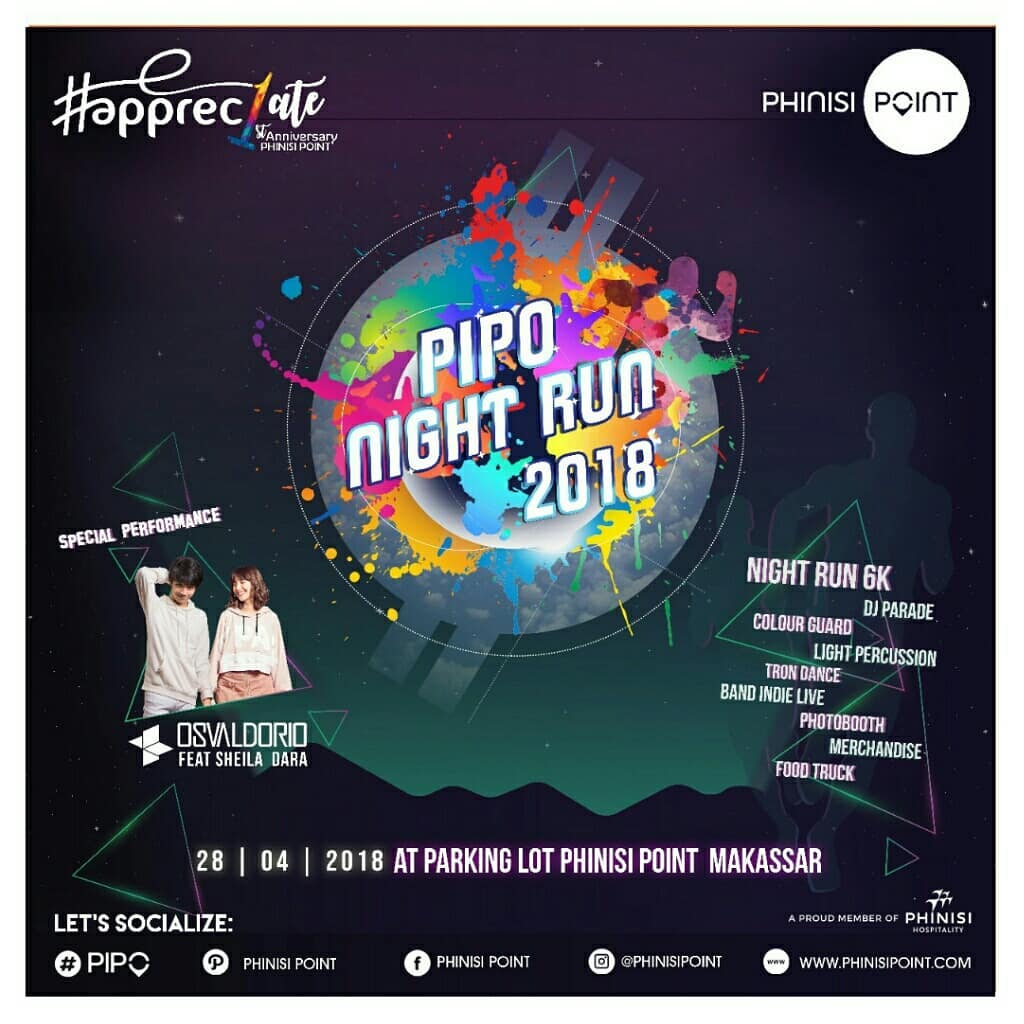 Pipo Night Run • 2018