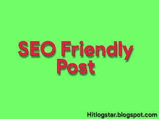 SEO Friendly Post Kaise Likhe Image