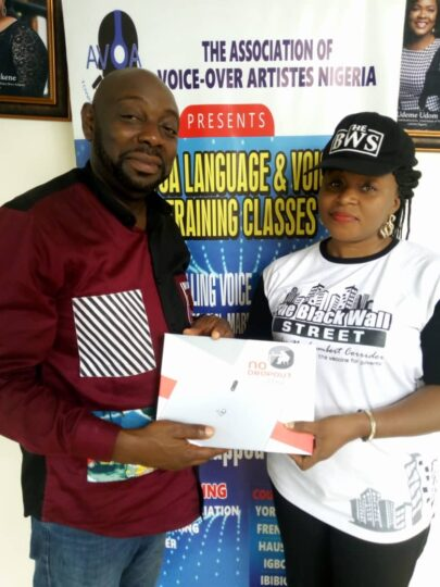 Black Wall Street empowers Nigerian voice-over artistes