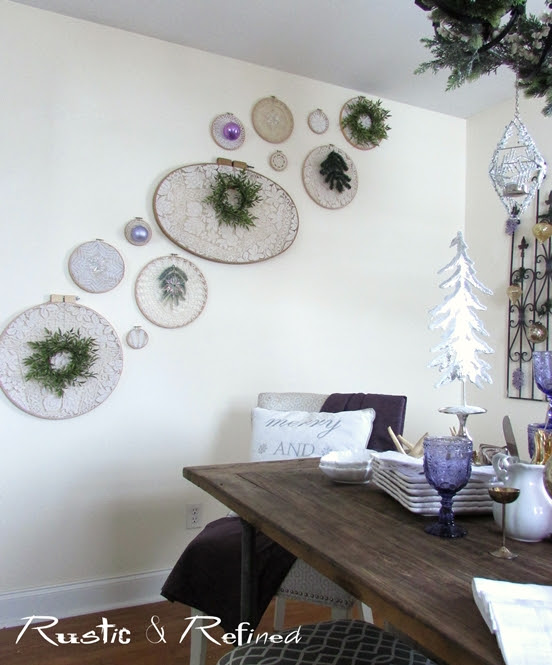 Dining Room Decor for Christmas